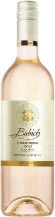 Вино Babich Wines Rose Pinot Noir Marlborough 2017