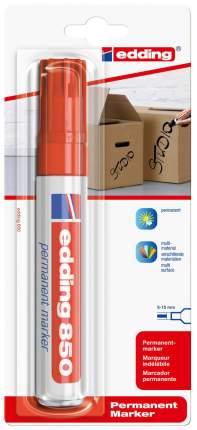 Перманентный маркер edding клиновидный наконечник, 5-16 мм, блистер