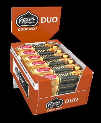 Конфета с арахисом и клюквой Good mix duo солнечный арахис 24 штуки по 50 г