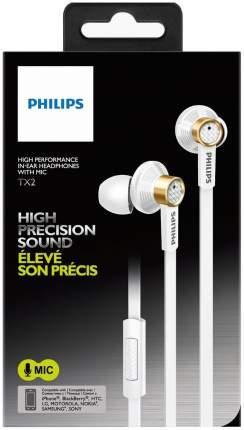 Наушники Philips TX2WT/00 White