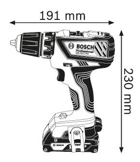 Аккумуляторная дрель-шуруповерт Bosch GSR 18-2-Li Plus 06019E6120
