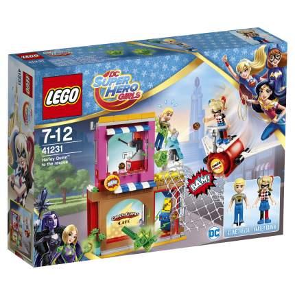 Конструктор LEGO DC Super Hero Girls Харли Квинн спешит на помощь (41231)