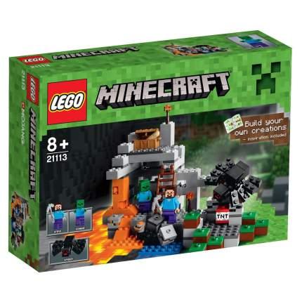 Конструктор LEGO Minecraft Пещера (21113)