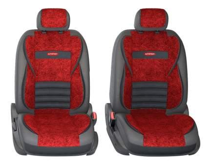 Комплект чехлов на сиденья Autoprofi Multi Comfort MLT-1105GV BK/RD (M)