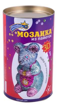Мозаика из пайеток Волшебная мастерская 3D Мышка 3D-02