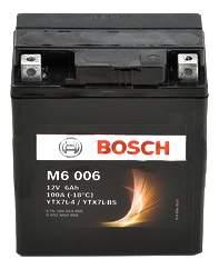 Аккумулятор автомобильный автомобильный Bosch Funstart AGM 0 092 M60 060 6 Ач