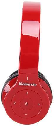 Беспроводные наушники Defender FreeMotion B703 Red\Black