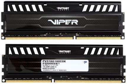Оперативная память PATRIOT Viper 3 PV316G160C0K