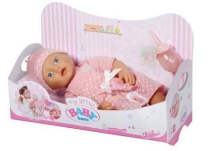 Кукла Zapf Creation Baby Born Пупс с бутылочкой