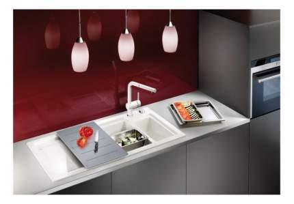 Мойка для кухни керамическая Blanco AXON II 6 S 516540 глянцевый белый
