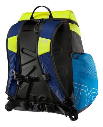 Рюкзак для плавания TYR Alliance LATBP30 30 л голубой/желтый/черный (487)