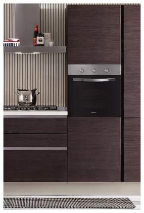 Встраиваемый электрический духовой шкаф MAUNFELD EOEC.586S1 Silver