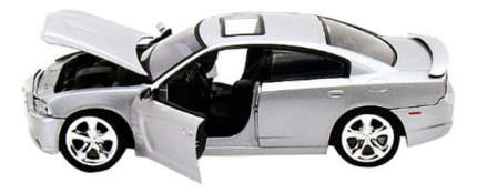 Коллекционная модель MotorMax 2011 Dodge Charger R/T себристая 1:24