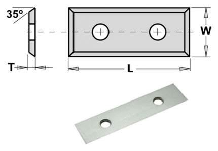 нож твердосплавный 29.5x9x1.5 F1730 (4 грани) CMT 790.295.09