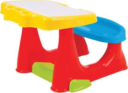 Парта детская со скамейкой и открывающейся столешницей Dolu