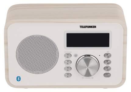 Радио-часы Telefunken TF-1581UB Белое дерево