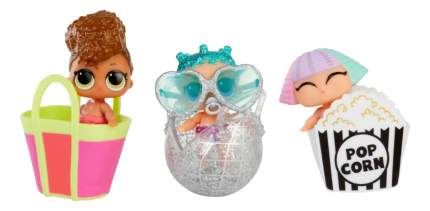 Кукла-сюрприз L.O.L. Конфетти сестрёнки в шарике 7 см