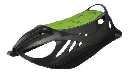 Санки Gismo Riders Neon Grip черно-зеленые