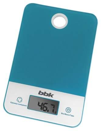 Весы кухонные BBK KS109G Белые; Бирюзовые