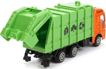 Мусоровоз Технопарк мусоровоз зеленый 4017-r