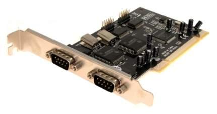 PCI-e контроллер COM Orient XWT-PS054 PCI 4xCOM, Moschip 9865 Ret