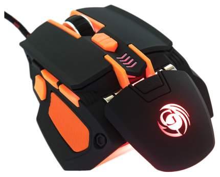 Проводная мышка Dialog Gan-Kata MGK-41U Orange/Black