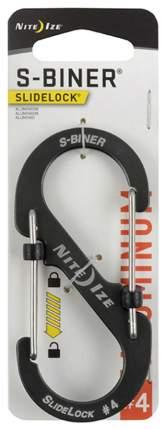 Карабин алюминиевый Nite Ize S-Biner SlideLock #4 LSBA4-09-R6 Charcoal