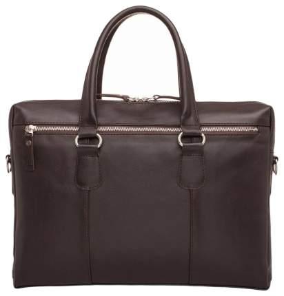 Портфель мужской кожаный Lakestone Bramley коричневый