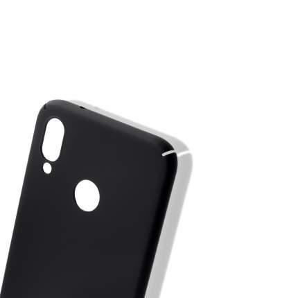 Накладка Brosco Soft-touch для Huawei P20 Lite, черная