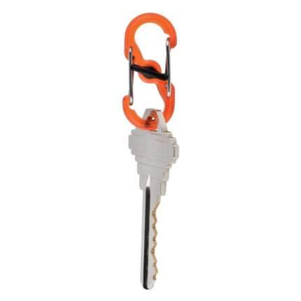Карабин Nite Ize S-Biner Microlock 2 шт. оранжевый