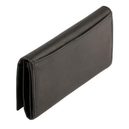 Черное портмоне из нубука Bufalo WLN-16