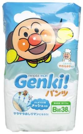 Подгузники-трусики Genki Big (12-17 Кг), 38 шт.