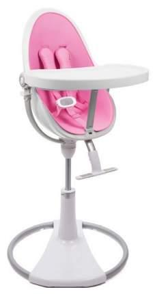 Стульчик для кормления Bloom Fresco Chrome White white, розовый