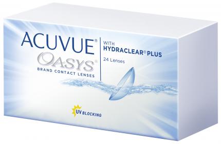 Контактные линзы Acuvue Oasys with Hydraclear Plus 24 линзы R 8,8 +8,00