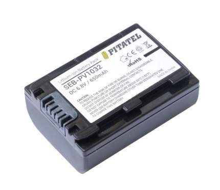 "Аккумулятор Pitatel ""SEB-PV1032"", для Sony DCR-DVD/HC/SR/SX/DSC, Alpha A230/A290/A330/A390"