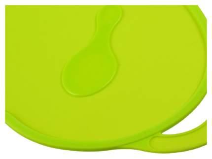 Коврик силиконовый для кормления, антискользящий, цвет зелёный  Mum&Baby
