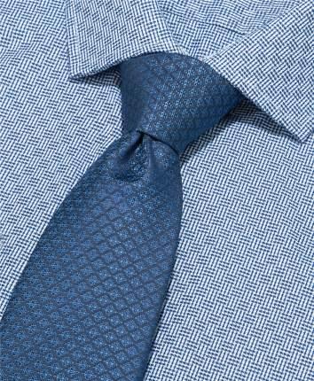 Галстук мужской HENDERSON TS-1841 синий