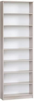 Шкаф книжный Divan.ru Марсель 29х80х240, премиум ясень шимо