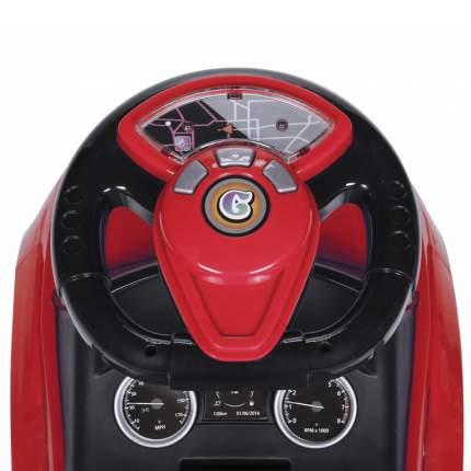 Каталка Baby Care Sport car с резиновыми колесами красная