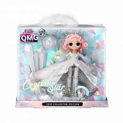 Кукла LOL Surprise O.M.G. Winter Disco Кристал Стар 562364