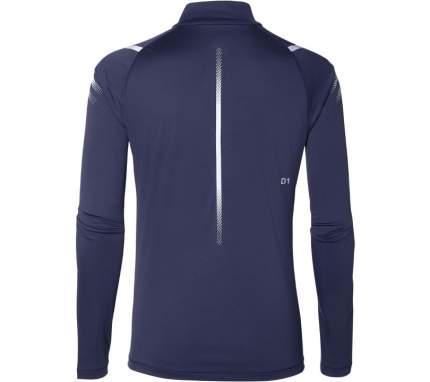 Лонгслив Asics Icon LS 1/2 Zip, indigo blue/dark grey, M INT