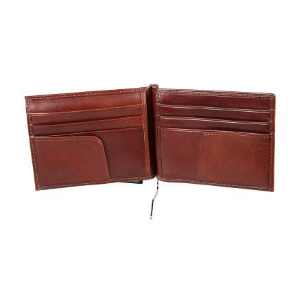 Зажим для денег мужской Sergio Belotti 2322 milano brown