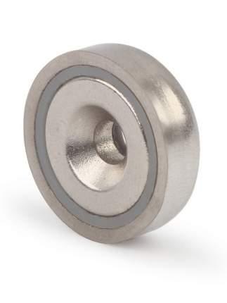 Магнитное крепление с отверстием для самореза A20, 4 шт