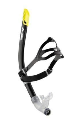 Трубка для плавания прямая Arena Swim Snorkel черная (50)