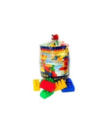 Конструктор пластиковый Кассон Комби Блок 4-511 50 деталей
