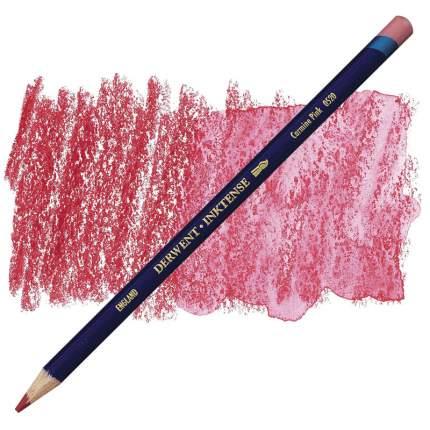 Карандаш акварельный Derwent Inktense №0520 Кармин розовый