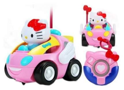 Радиоуправляемая машинка для детей Robocar Poli Hello Kitty C110-508A-1