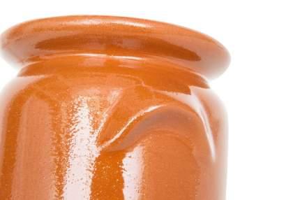 Горшок Кунгурская керамика для жаркого Бочонок 0,5 л