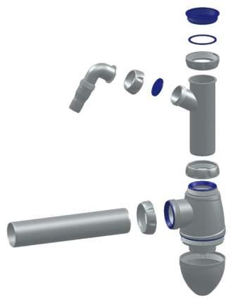 Сифон для раковины UNICORN A510V