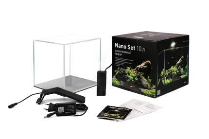 Аквариумный комплекс для рыб, креветок, растений Collar Nano Set, 10 л